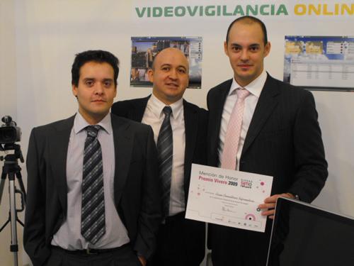 Vidium, mención de honor en los premios Vivero 2009